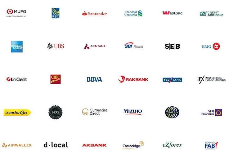 banche che supportano ripple xrp